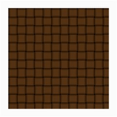 Brown Nose Weave Glasses Cloth (Medium, Two Sided)