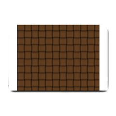 Brown Nose Weave Small Door Mat