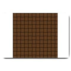 Brown Nose Weave Large Door Mat