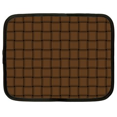 Brown Nose Weave Netbook Case (large)