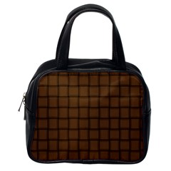 Brown Nose Weave Classic Handbag (one Side)