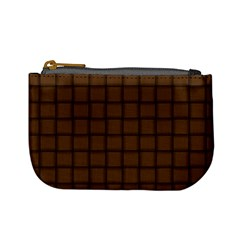 Brown Nose Weave Coin Change Purse