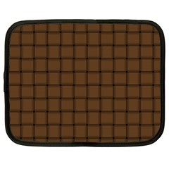 Brown Nose Weave Netbook Case (XL)