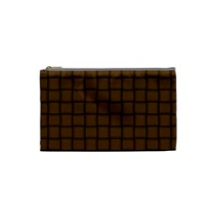 Brown Nose Weave Cosmetic Bag (small)