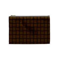 Brown Nose Weave Cosmetic Bag (Medium)