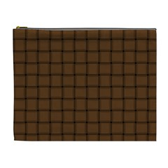 Brown Nose Weave Cosmetic Bag (XL)