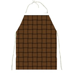 Brown Nose Weave Apron