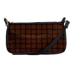 Brown Nose Weave Evening Bag