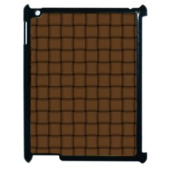 Brown Nose Weave Apple iPad 2 Case (Black)