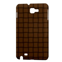 Brown Nose Weave Samsung Galaxy Note 1 Hardshell Case