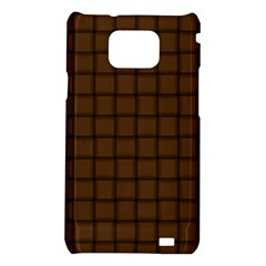 Brown Nose Weave Samsung Galaxy S II i9100 Hardshell Case