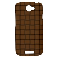 Brown Nose Weave HTC One S Hardshell Case