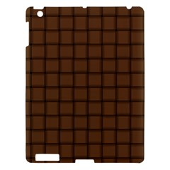 Brown Nose Weave Apple Ipad 3/4 Hardshell Case