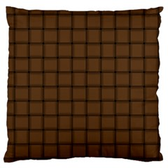 Brown Nose Weave Large Cushion Case (One Side)