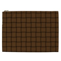 Brown Nose Weave Cosmetic Bag (xxl)