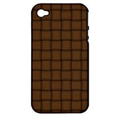 Brown Nose Weave Apple iPhone 4/4S Hardshell Case (PC+Silicone)
