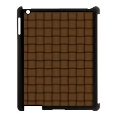Brown Nose Weave Apple iPad 3/4 Case (Black)