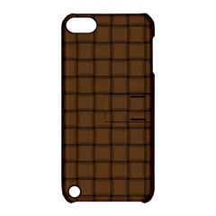 Brown Nose Weave Apple Ipod Touch 5 Hardshell Case With Stand