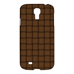 Brown Nose Weave Samsung Galaxy S4 I9500 Hardshell Case