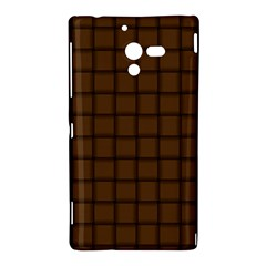 Brown Nose Weave Sony Xperia ZL L35H Hardshell Case