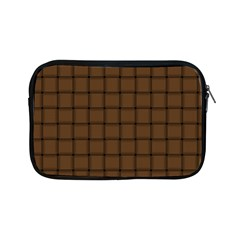 Brown Nose Weave Apple Ipad Mini Zipper Case