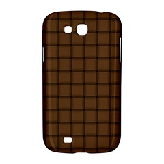 Brown Nose Weave Samsung Galaxy Grand GT-I9128 Hardshell Case