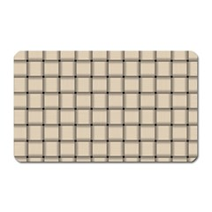 Champagne Weave Magnet (rectangular)