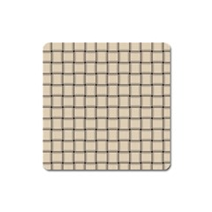 Champagne Weave Magnet (Square)