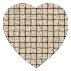 Champagne Weave Jigsaw Puzzle (heart)