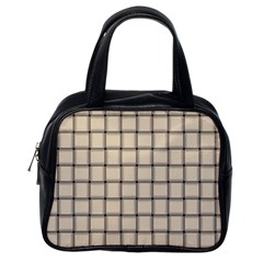 Champagne Weave Classic Handbag (One Side)