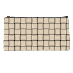 Champagne Weave Pencil Case