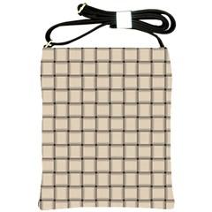 Champagne Weave Shoulder Sling Bag
