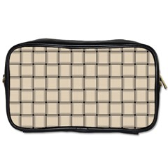 Champagne Weave Travel Toiletry Bag (One Side)