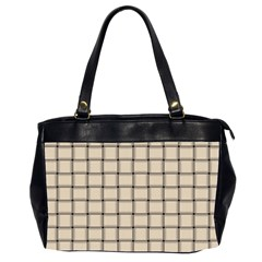 Champagne Weave Oversize Office Handbag (two Sides)
