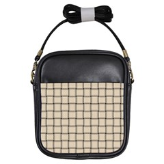 Champagne Weave Girl s Sling Bag