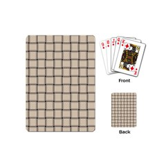 Champagne Weave Playing Cards (Mini)