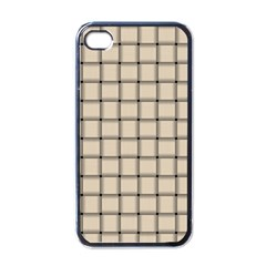 Champagne Weave Apple iPhone 4 Case (Black)
