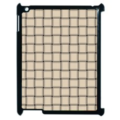 Champagne Weave Apple iPad 2 Case (Black)