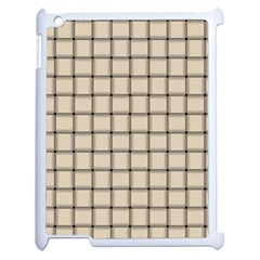 Champagne Weave Apple iPad 2 Case (White)