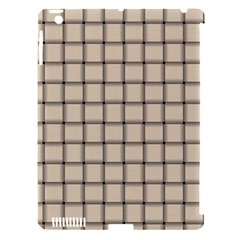 Champagne Weave Apple iPad 3/4 Hardshell Case (Compatible with Smart Cover)