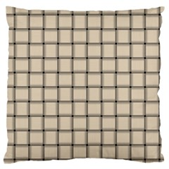 Champagne Weave Large Cushion Case (one Side)