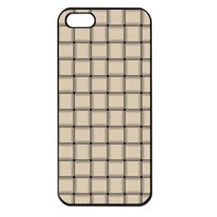 Champagne Weave Apple Iphone 5 Seamless Case (black)