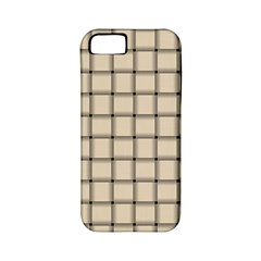 Champagne Weave Apple Iphone 5 Classic Hardshell Case (pc+silicone)