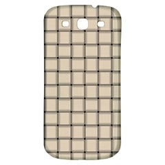 Champagne Weave Samsung Galaxy S3 S Iii Classic Hardshell Back Case