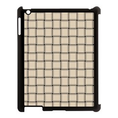 Champagne Weave Apple iPad 3/4 Case (Black)