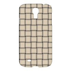 Champagne Weave Samsung Galaxy S4 I9500 Hardshell Case