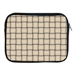 Champagne Weave Apple iPad 2/3/4 Zipper Case