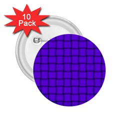 Violet Weave 2.25  Button (10 pack)