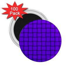 Violet Weave 2.25  Button Magnet (100 pack)