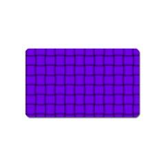 Violet Weave Magnet (name Card)